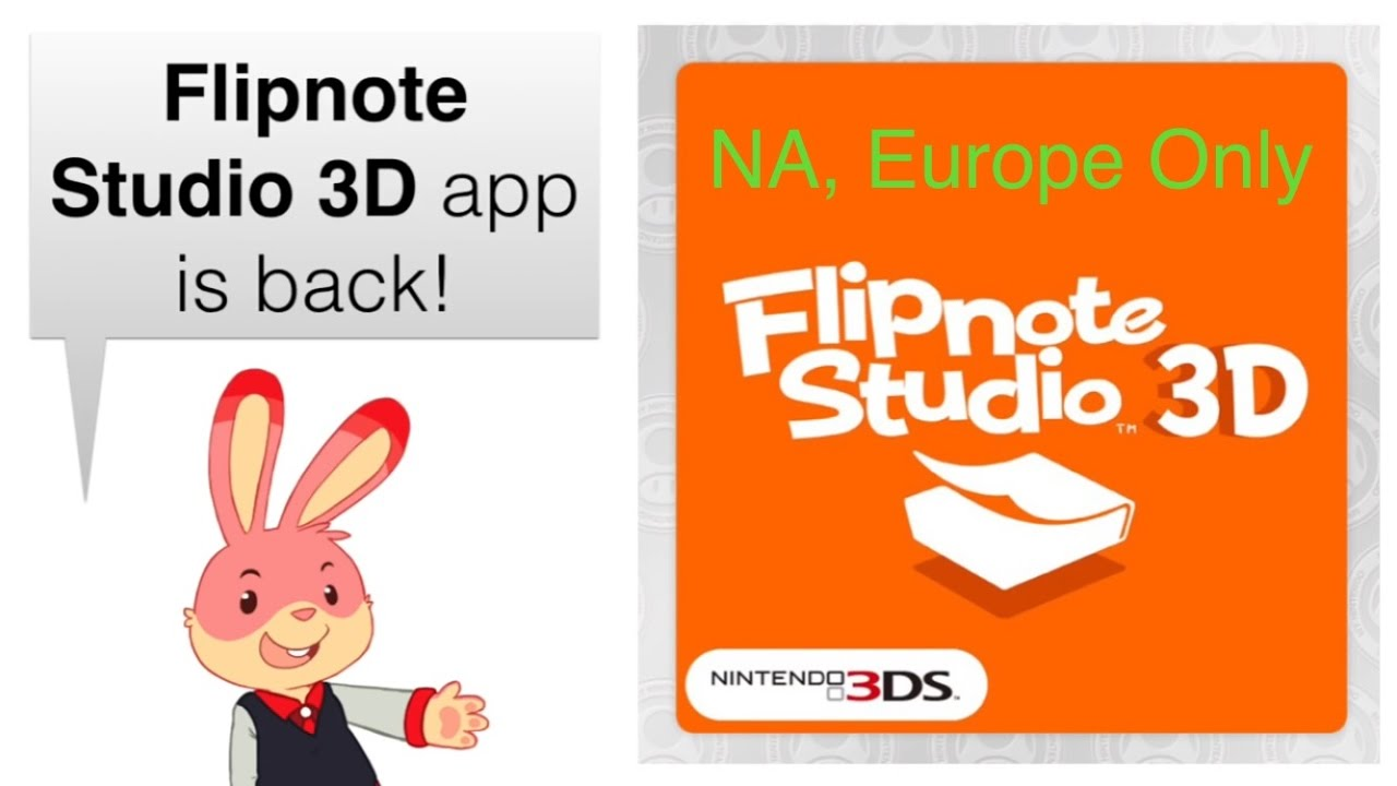 How to get Flipnote Studio 3D (Europe and NA region) - YouTube