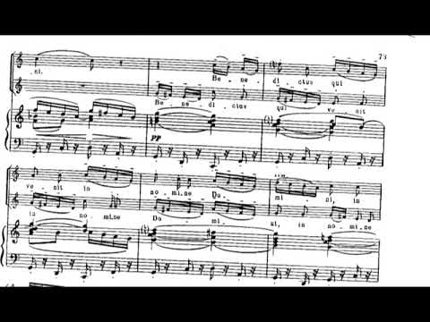 Benjamin Britten - Missa Brevis in D for Choir and Organ, Op. 63 (1959) [Score-Video]