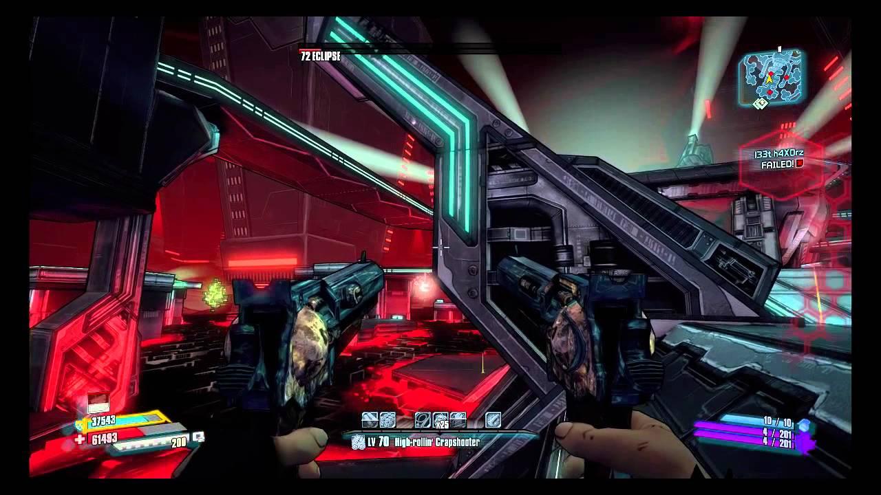 Borderlands: The Pre - Sequel - Nisha vs Eclipse / EOS - Lvl 70 - Luck  Cannon