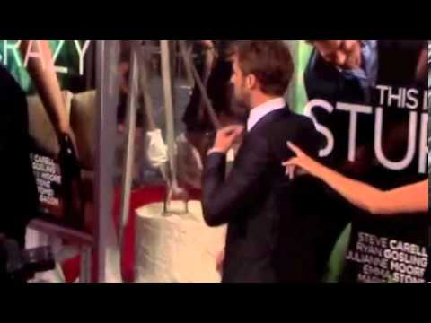 Ryan Gosling arriving at the World premiere of Crazy Stupid Love held a