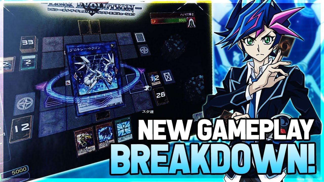 Yu-Gi-Oh! Legacy Of The Duelist: Link Evolution FIRST GAMEPLAY Screenshots  BREAKDOWN & Card Pool!