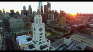Philadelphia by drone