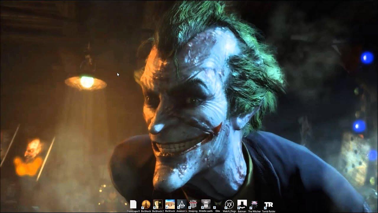 Joker Live Wallpaper - YouTube