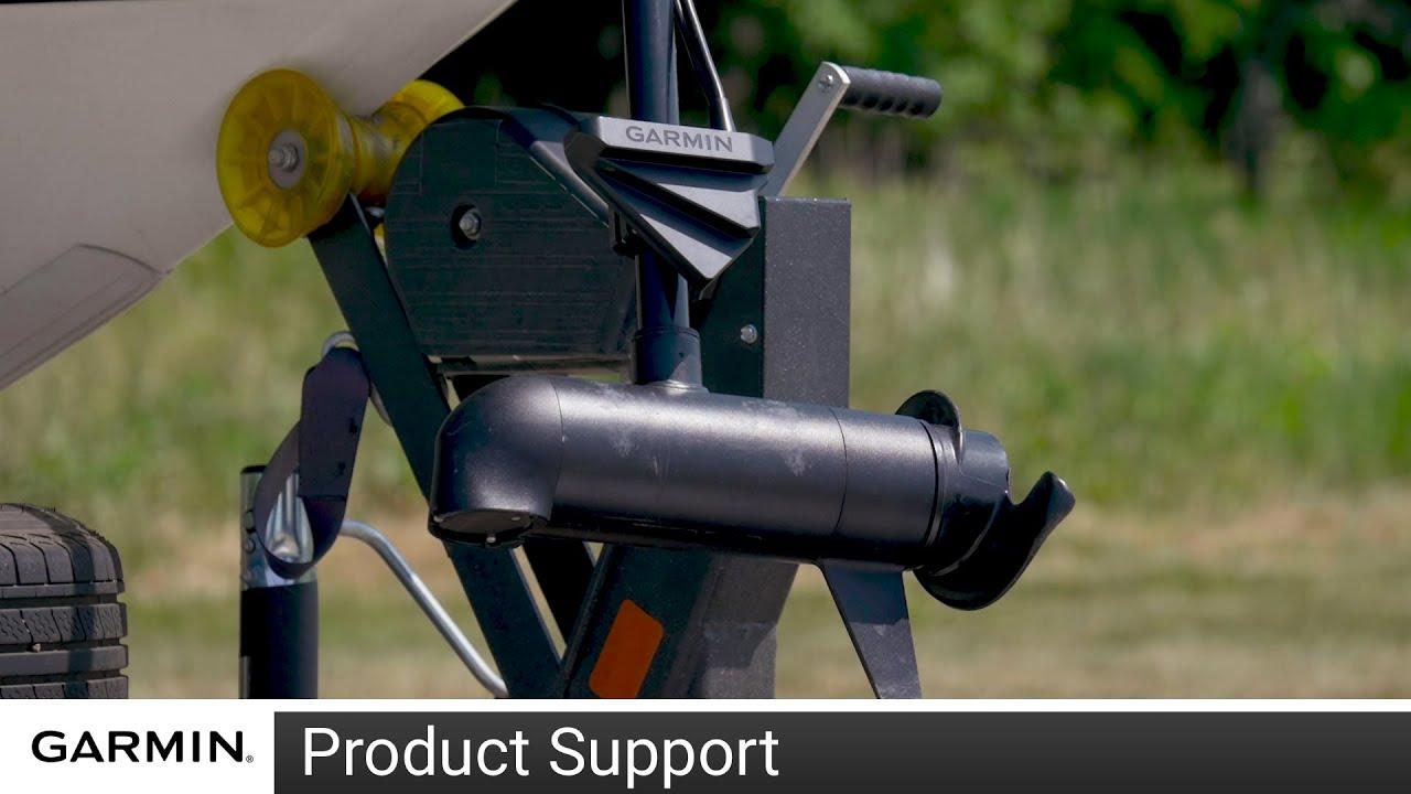 Garmin livescope Perspective mode Mount-Trolling Motor//Pince d/'installation