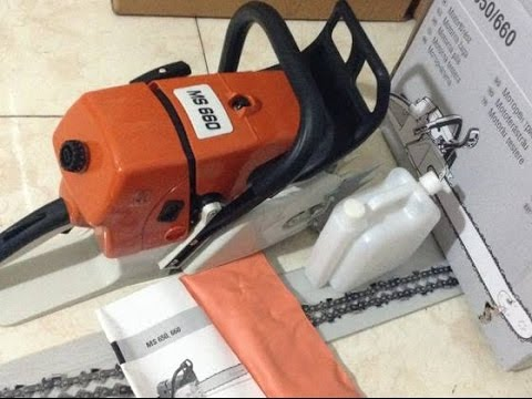 Chinese MS 660 chainsaw