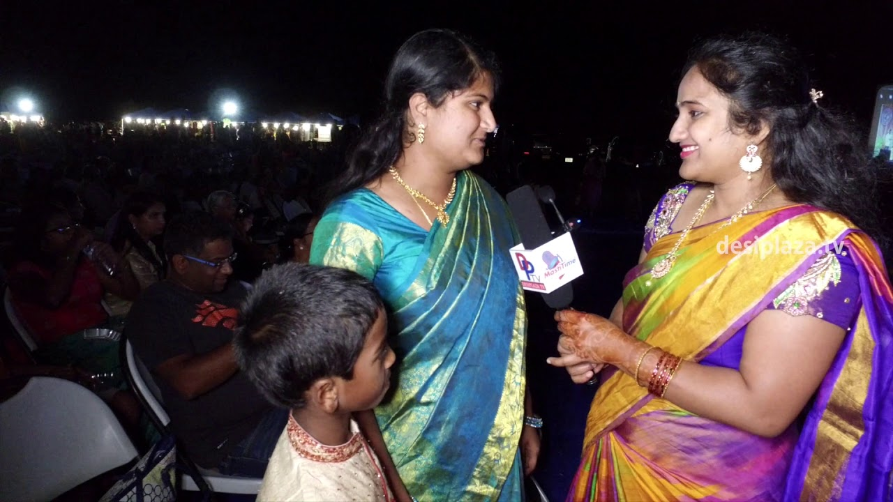 Bathukamma & Dasara Panduga Attendees happiness about attending the event.