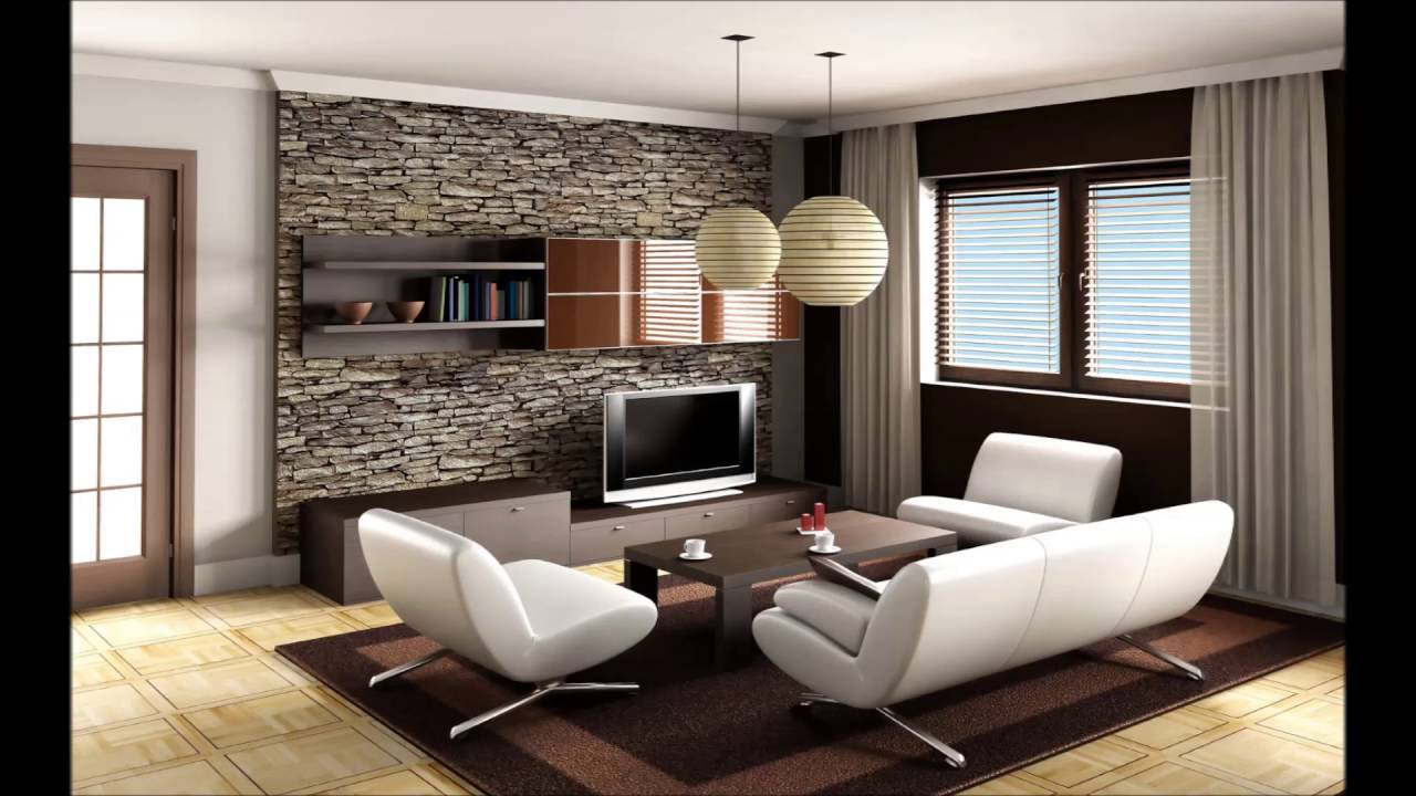 Images of contemporary living rooms - Contemporary Living Room With Fancy Furniture