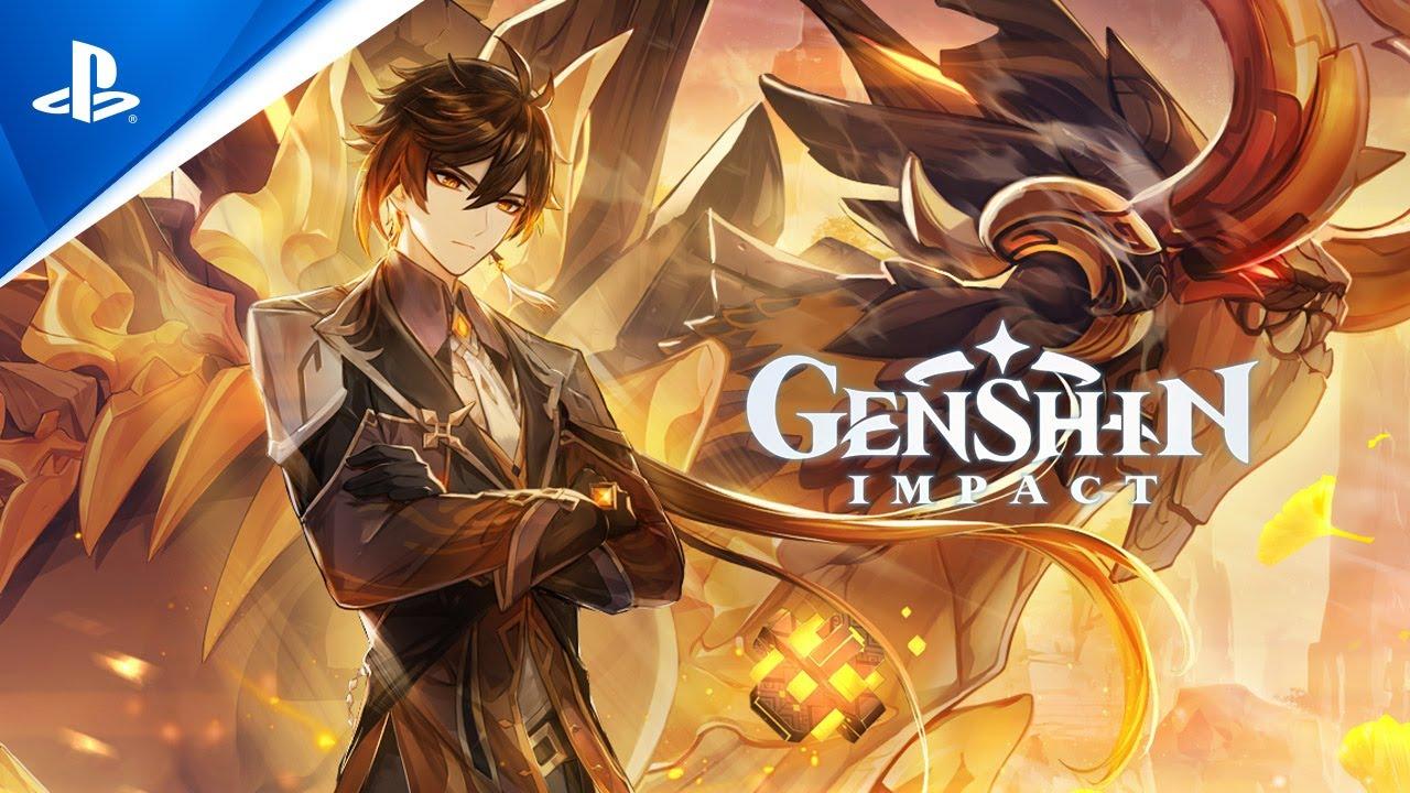 Genhsin Impact – ролик про свежее обновление