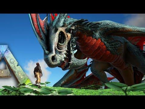🐲Ark INSANE DRAGONS WYVERNS & MORE!! Part 1 Ark Survival Evolved DragonArk Mod Showcase