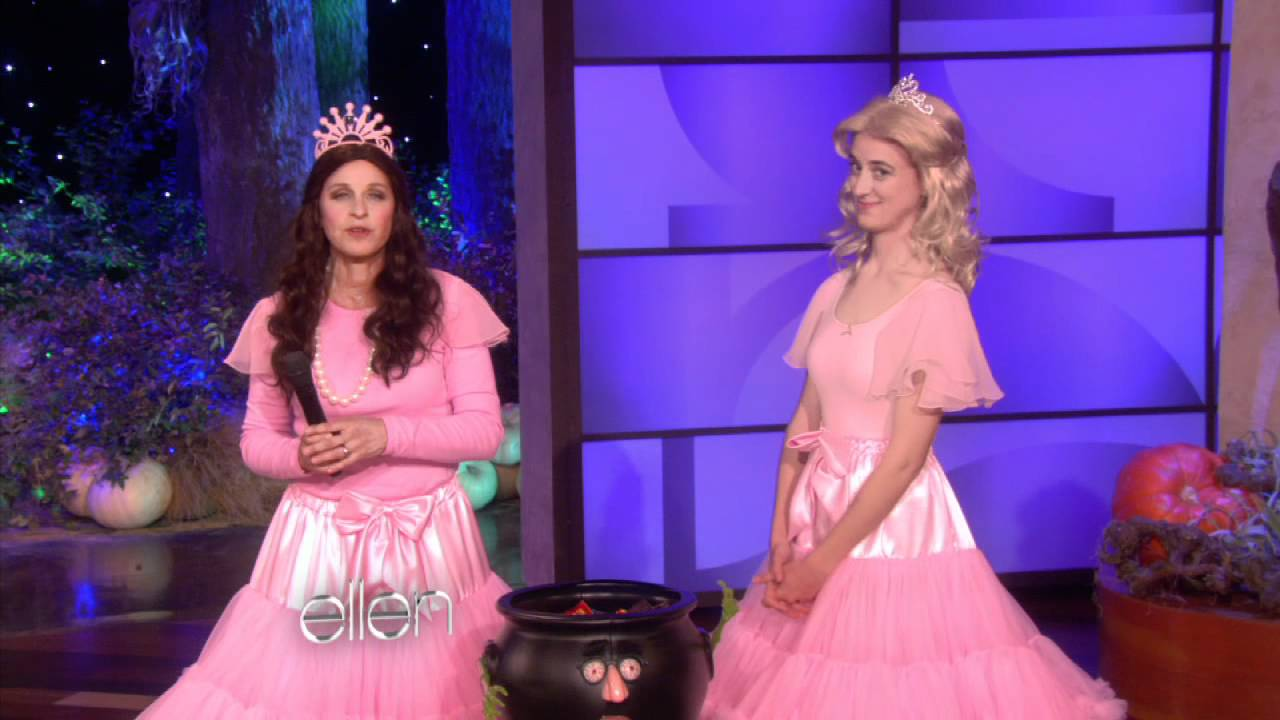 ellen degeneres halloween show video