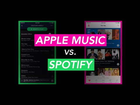 Should You Subscribe To Apple Music Or Spotify? - Newsy