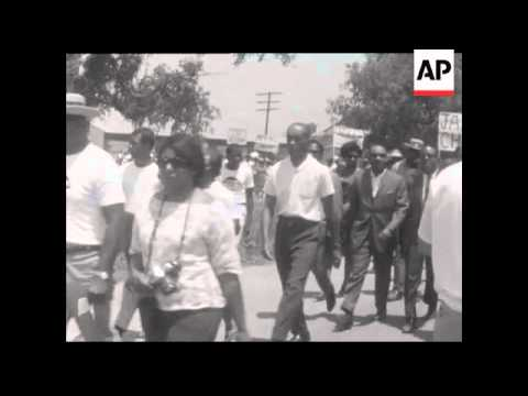 CAN795 CIVIL RIGHTS MARCH IN PHILADELPHIA, MISSISSIPPI