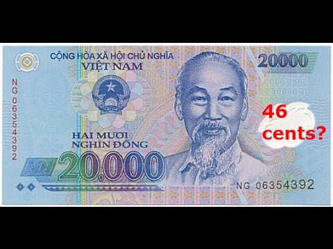 State Bank Of Vietnam Vietnamese Dong Usd Rate News Showing 46 47 Cents Global Currency Reset