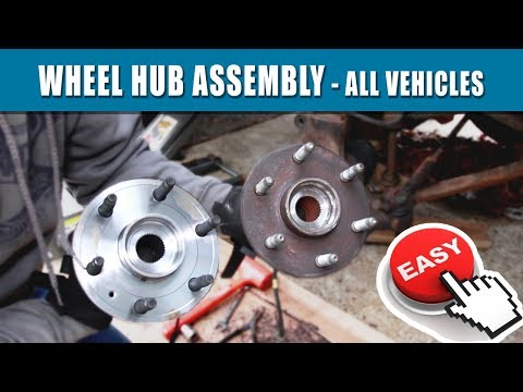 How To Replace Front Wheel Bearing Silverado 1999-2013 & 2014-17 for $120 | AutoZone Duralast Hub
