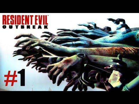 Resident Evil Outbreak file #1 | Capitulo 1: Epidemia | Gameplay en Español |
