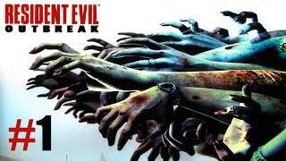Resident Evil Outbreak file #1 PS2   Capitulo 1: Epidemia   Gameplay en Español   1080p 60 FPS