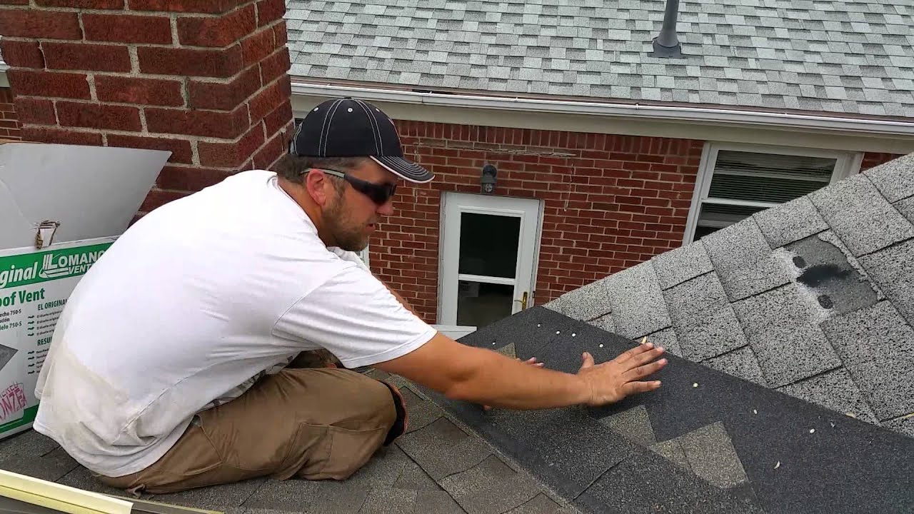 Laying A Second Layer Over Existing Shingles Close   YouTube