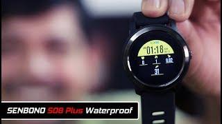 SENBONO S08 Plus IP68 Waterproof Heart Rate Monitor Fitness Track