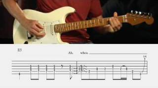 "Robert Palmer ""Bad Case of Loving You Guitar Lesson @ Guitarinstructor.com (excerpt)"