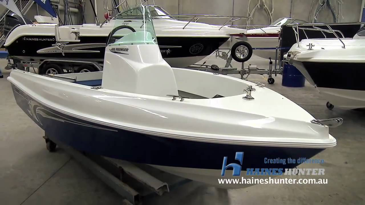 Work Boats For Sale >> Haines Hunter 400 Prowler Boat Preview - YouTube
