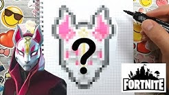 Pixel Art Facile Fortnite