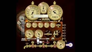Steampunk Resource Monitor Yahoo Desktop Widget
