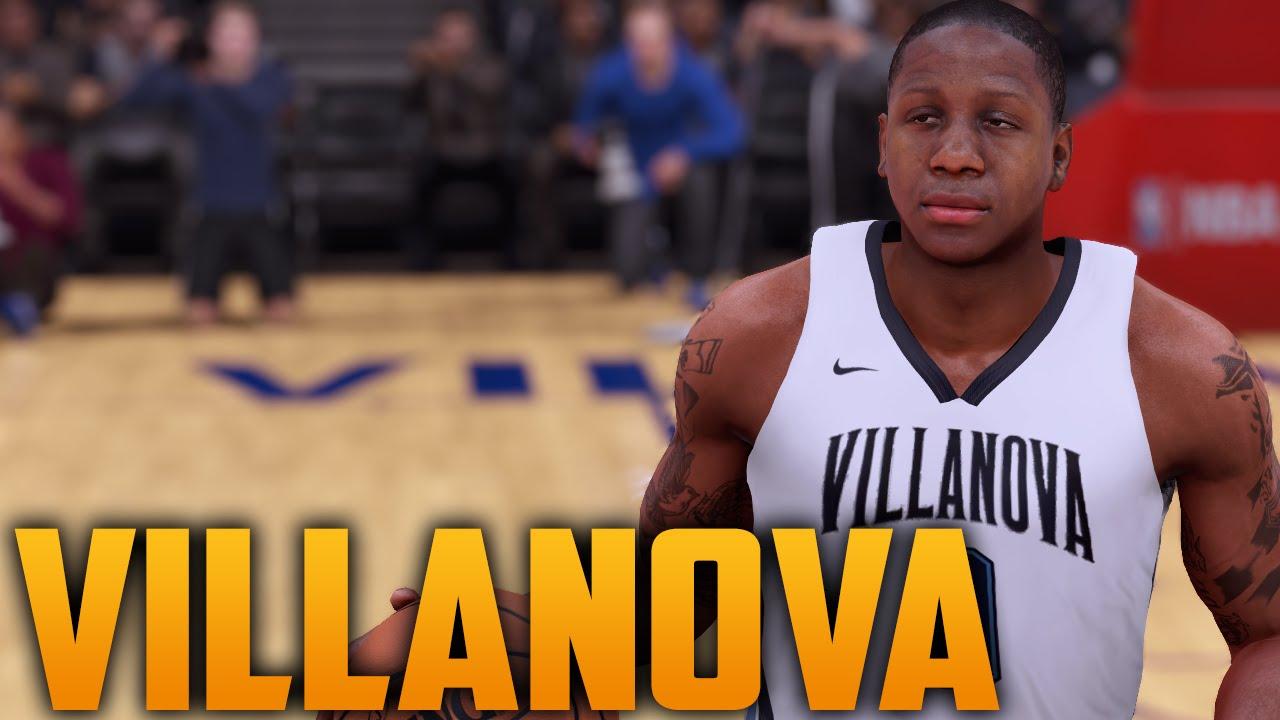 NBA 2K16 2015-16 Villanova Wildcats Jersey   Court Tutorial (National  Champions) - YouTube ba0d56943