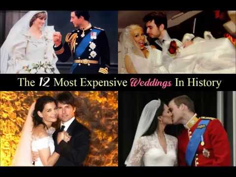 The Most Expensive Weddings In History
