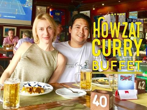 Howzat Sports Bar Manila Friday Curry Buffet Samosas Shrimp Lamb Curry, Unlimited Beer etc.!