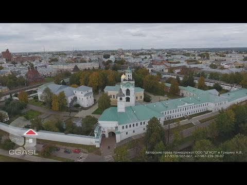 Аэросъемка города Ярославль
