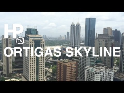 Ortigas Center Skyline Pasig Mandaluyong Metro Manila Philippines by HourPhilippines.com