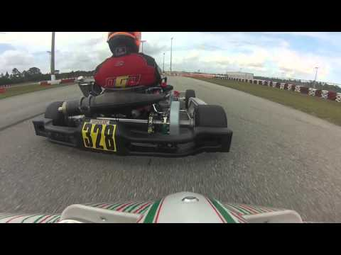 FLorida Winter Tour 2016 Heat 1 Palm Beach Karting ROK Sr. Ryan Norberg