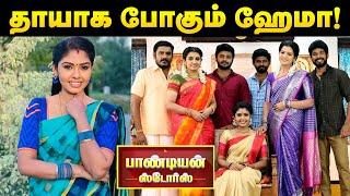 நிஜ வாழ்க்கையிலும் தாய்யாக போகும் Pandian Stores Hema | Vijay TV Serial | Cineulagam