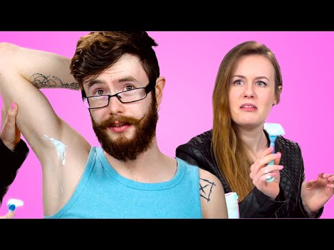 Girls Try Shave Their Boyfriend's Armpits For The First Time - 동영상