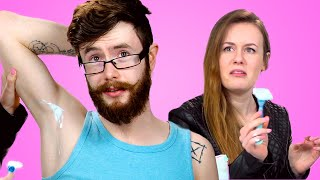 Girls Try Shave Their Boyfriend's Armpits For The First Time