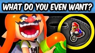 Mario Kart Wii Hide & Seek on UNUSED TRACKS!