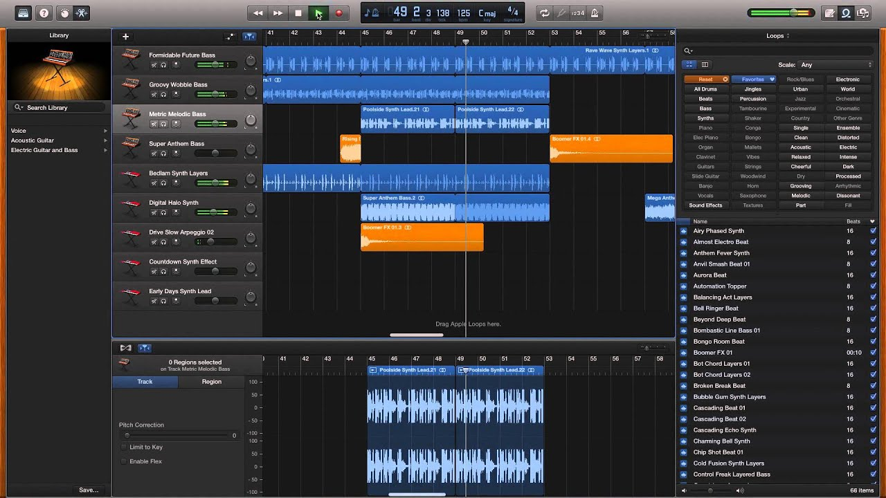 how to make music on garageband without instruments