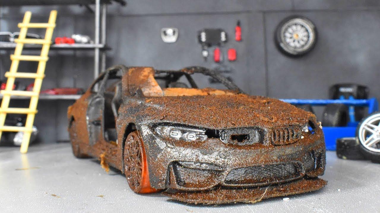 Download Restoration Abandoned BMW M4 GTS Model Car