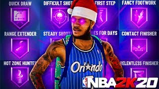 How I MAXED OUT All SHOOTING BADGES in ONE DAY on NBA 2K20! BEST BADGE METHOD IN NBA 2K20!
