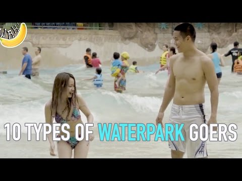 10 Types of Waterpark Goers