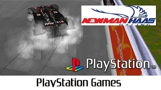 Newman Haas Racing (Quick Gameplay) Playstation