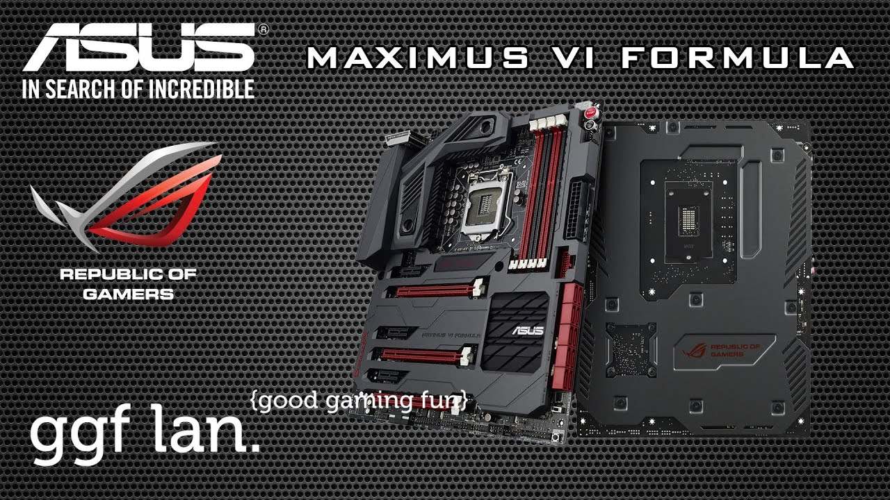 Asus MAXIMUS VI FORMULA LAN Drivers for Windows 7