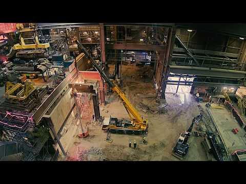 Engineering bij Tata Steel: Nieuwe continugietmachine in de Oxystaalfabriek