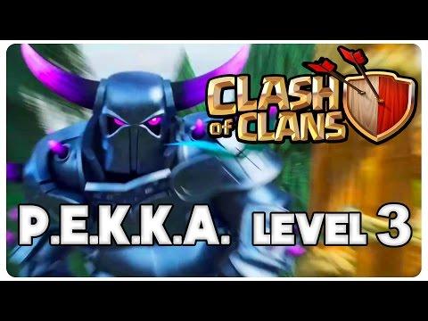 Clash of Clans Romania   P.E.K.K.A. Level 3