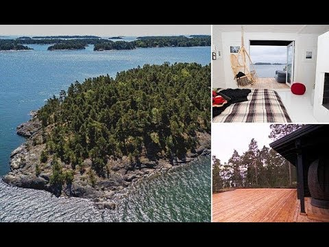 The Finnish island where men are BANNED