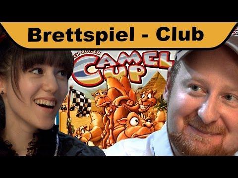 Camel Up - Doktor Allwissend und Melissa im Hunter & Cron Brettspiel-Club