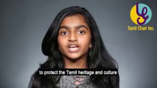 tamil is a more than 2500 year old culture