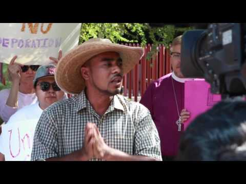 Sanctuary Press Conference in front of Phoenix ICE Office - Aug 12, 2016