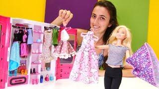 Sevcan Barbie için giysi dolabı sipariş ediyor