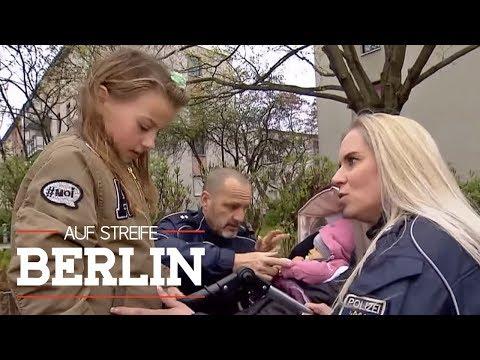 Mädchen und Baby auf der Flucht: Wo sind die Eltern?   Auf Streife - Berlin   SAT.1 TV